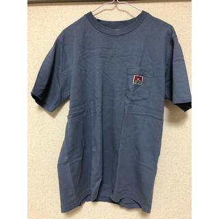 ポケットTシャツ 青色