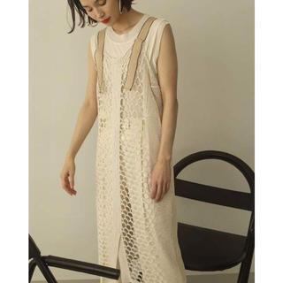 TODAYFUL - Mesh Knit Dress サイズ38