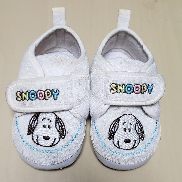 SNOOPY(スヌーピー)のベビー靴 キッズ/ベビー/マタニティのベビー靴/シューズ(~14cm)(スニーカー)の商品写真