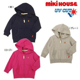 ミキハウス(mikihouse)のミキハウス☆パーカー(80)(シャツ/カットソー)