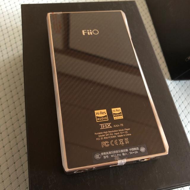 Fiio m11pro ss スマホ/家電/カメラのオーディオ機器(ポータブルプレーヤー)の商品写真