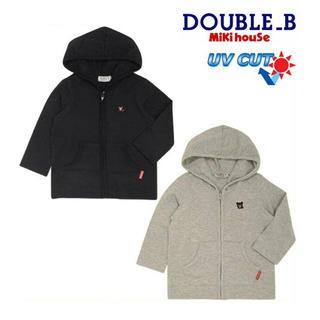 DOUBLE.B - 【美品】ミキハウスダブルビー☆パーカー(110)