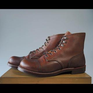 レッドウィング(REDWING)のレッドウィング8111アイアンレンジ9.5Dベックマンセッター8112 8113(ブーツ)