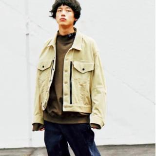 コモリ(COMOLI)のessay オーバーサイズ コーデュロイ ジャケット(Gジャン/デニムジャケット)