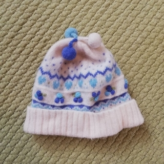 ファミリア(familiar)のfamiliar ベビー ニット帽(手袋)