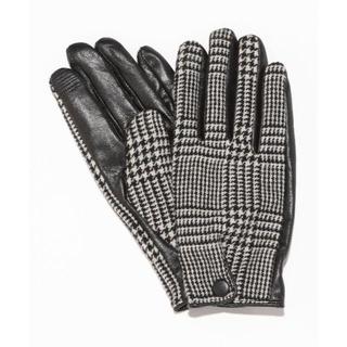 ビューティアンドユースユナイテッドアローズ(BEAUTY&YOUTH UNITED ARROWS)のBEAUTY&YOUTH グレンチェック グローブ (手袋)