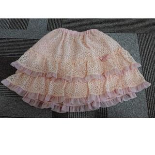 シャーリーテンプル(Shirley Temple)のタグつき新品 シャーリーテンプル スカート 120(スカート)