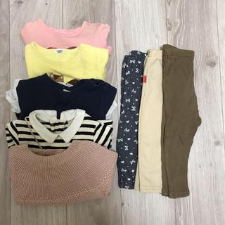 プティマイン(petit main)の女の子 80 まとめ売り トレーナー ズボン(トレーナー)