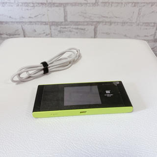エーユー(au)のspeed wi-fi next w05 wifiルーター(PC周辺機器)