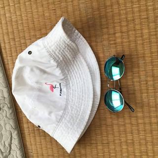 カンゴール(KANGOL)のFlamingol DL HEADWEAR バケットハット おまけサングラス(ハット)