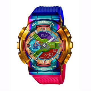 ジーショック(G-SHOCK)のG-SHOCK GM-110RB-2AJF メタルカバード レインボー(腕時計(アナログ))