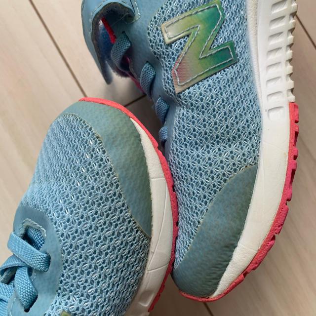 New Balance(ニューバランス)の子供靴 キッズシューズ スニーカー ニューバランス 女の子 18.5cm キッズ/ベビー/マタニティのキッズ靴/シューズ(15cm~)(スニーカー)の商品写真