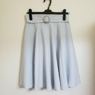 ミッシュマッシュ(MISCH MASCH)のミッシュマッシュ♡リングベルトフレアースカート(ひざ丈スカート)
