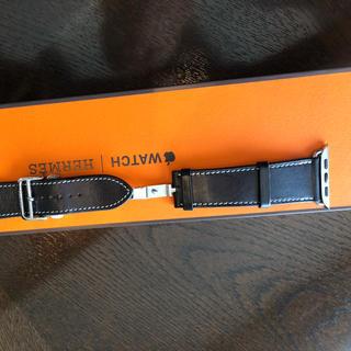 エルメス(Hermes)のApple Watch Hermes 44mmケース用バックルレザーストラップ(レザーベルト)
