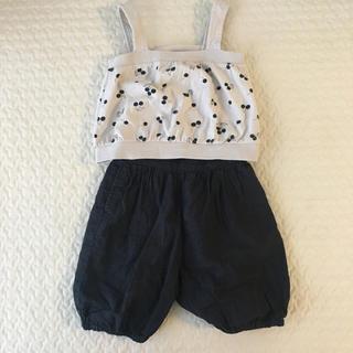 マーキーズ(MARKEY'S)のマーキーズ コムサ 80サイズ 子供服 まとめ売り(パンツ)