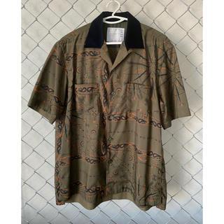 sacai - sacai 20aw Bandana Print Shirt