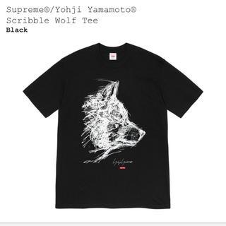 シュプリーム(Supreme)のSupreme®/Yohji Yamamoto®Scribble WolfTee(Tシャツ/カットソー(半袖/袖なし))