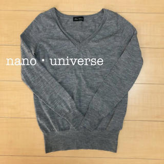 nano・universe - nano・universe ニット セーター お値下中✩.*