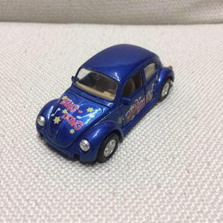 フォルクスワーゲン(Volkswagen)のフォルクスワーゲン ビートル ミニカー ブルー(ミニカー)