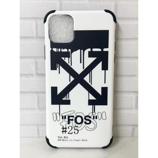 オフホワイト(OFF-WHITE)の斬新デザイン  オフホワイト iPhoneケース  他のサイズもあります(iPhoneケース)