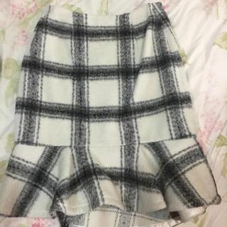 マーキュリーデュオ(MERCURYDUO)のマーメイドスカート(ひざ丈スカート)