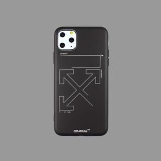 オフホワイト(OFF-WHITE)のシンプルでお洒落なデザイン オフホワイト iPhoneケース 11pro Max(iPhoneケース)