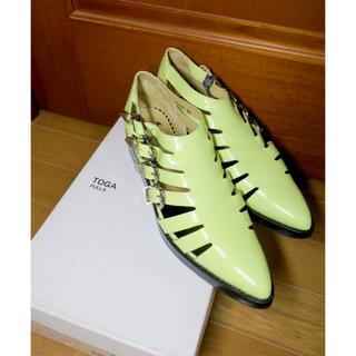 トーガ(TOGA)のTOGA 39 美品!靴 トラッドシューズ サンダル メタルベルト(サンダル)