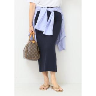 ドゥーズィエムクラス(DEUXIEME CLASSE)の美品 Deuxieme Classe MADISONBLUEWAFFLEスカート(ひざ丈スカート)