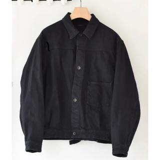 コモリ(COMOLI)の未使用 COMOLI コモリ 20AW デニムジャケット 黒 サイズ3 Gジャン(Gジャン/デニムジャケット)