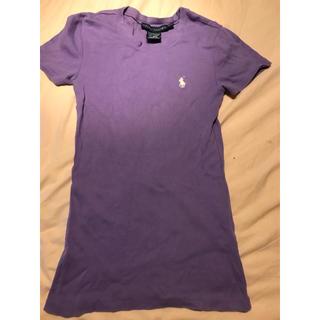 ポロラルフローレン(POLO RALPH LAUREN)の美品 ラルフローレンティーシャツ Sサイズ(Tシャツ(半袖/袖なし))