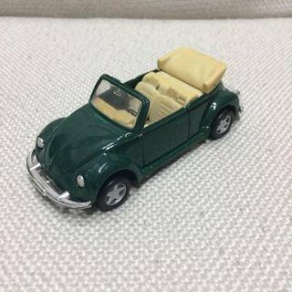 フォルクスワーゲン(Volkswagen)のフォルクスワーゲン ビートル カブリオレ グリーン ミニカー 1/36(ミニカー)