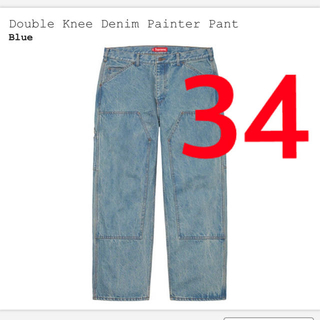 Supreme - Double Knee Denim Painter Pant 34インチ