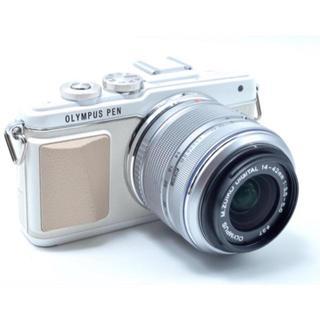 OLYMPUS - オリンパス e-pl7 ホワイト ミラーレス一眼 カメラ OLYMPUS
