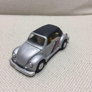 フォルクスワーゲン(Volkswagen)のフォルクスワーゲン ワーゲン カブリオレ  1/36 ミニカー シルバー(ミニカー)