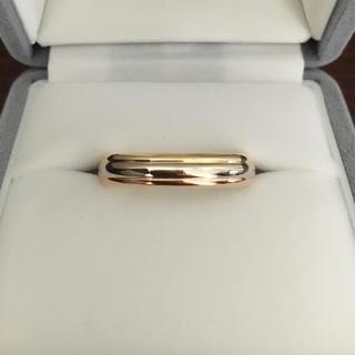 カルティエ(Cartier)のカルティエ トリニティ スリーカラー リング K18YG PG WG 8.1g(リング(指輪))