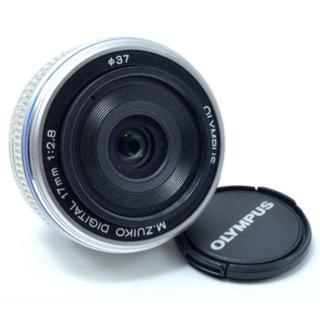 OLYMPUS - オリンパス 単焦点レンズ シルバー