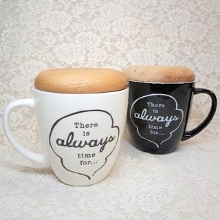 アフタヌーンティー(AfternoonTea)の【Afternoon Tea Living】蓋付きマグカップ(送料無料)(グラス/カップ)