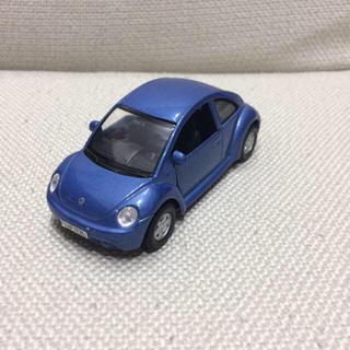 フォルクスワーゲン(Volkswagen)のフォルクスワーゲン ニュービートル ミニカー ブルー New Beetle(ミニカー)