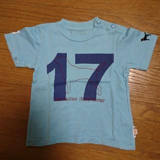 ラブラドールリトリーバー(Labrador Retriever)の90cm ラブラドールレトリバー Tシャツ  キッズ ベビー 男の子 女の子 ①(Tシャツ/カットソー)