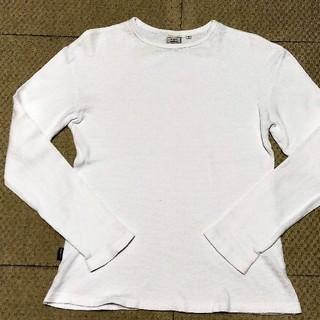 アヴィレックス(AVIREX)のAVIREX アビレックス ワッフルシャツ Sサイズ アウトレット 古着(Tシャツ/カットソー(七分/長袖))