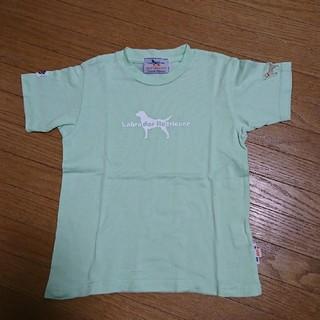 ラブラドールリトリーバー(Labrador Retriever)の100cm ラブラドールレトリバー Tシャツ 男の子 女の子 ①(Tシャツ/カットソー)