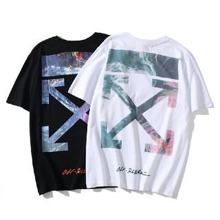 オフホワイト(OFF-WHITE)の大人気!OFF WHITEオフホワイト半袖Tシャツ  二枚 F13(Tシャツ/カットソー(半袖/袖なし))