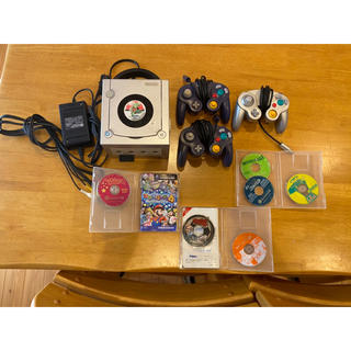 ニンテンドーゲームキューブ(ニンテンドーゲームキューブ)のゲームキューブカセットセット(家庭用ゲーム機本体)