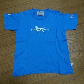 ラブラドールリトリーバー(Labrador Retriever)の100cm ラブラドールレトリバー Tシャツ 男の子 女の子②(Tシャツ/カットソー)