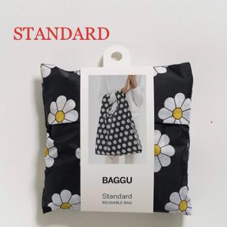 ビームス(BEAMS)の【新品未使用】BAGGU スタンダード/ブラックデイジー(エコバッグ)