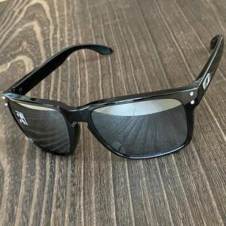 オークリー ホルブルック 偏光 ブラック ミラー サングラス アジアンフィット