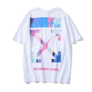 オフホワイト(OFF-WHITE)の大人気!OFF WHITEオフホワイト半袖Tシャツ F17(Tシャツ/カットソー(半袖/袖なし))