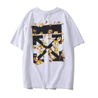 オフホワイト(OFF-WHITE)の大人気!OFF WHITEオフホワイト半袖Tシャツ F19(Tシャツ/カットソー(半袖/袖なし))