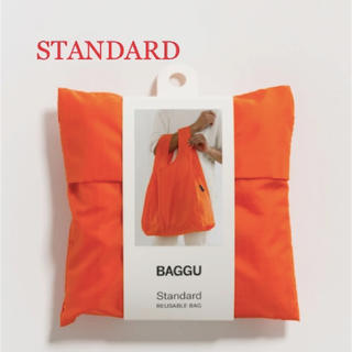 ビームス(BEAMS)の【新品未使用】BAGGU スタンダード/ビビットオレンジ(エコバッグ)
