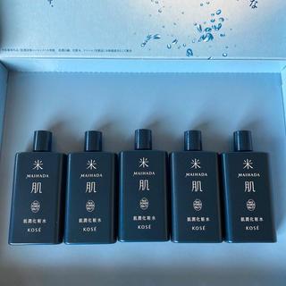 コーセー(KOSE)の米肌 肌潤 化粧水 30ml×5本(化粧水/ローション)
